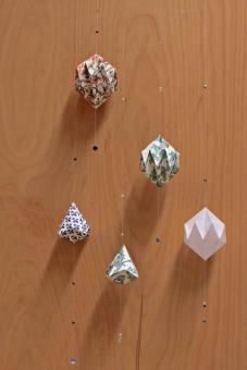 Faltkristall Lampion