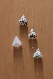 Faltkristall Diamant