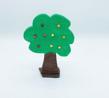 Apfelbäumchen Holz